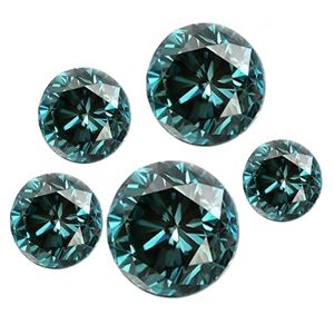 5.00 Quilates azul Diamantes - SI - (0.10-0.25 Cts.)