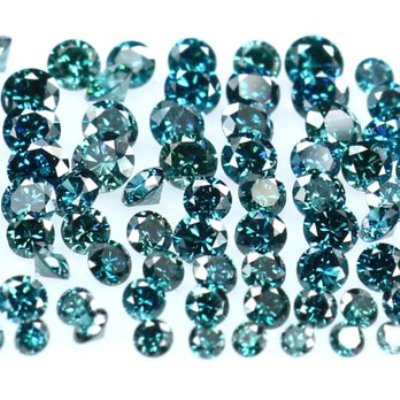 10.00 Quilates azul Diamantes - SI - (0.06-0.10 Cts.)
