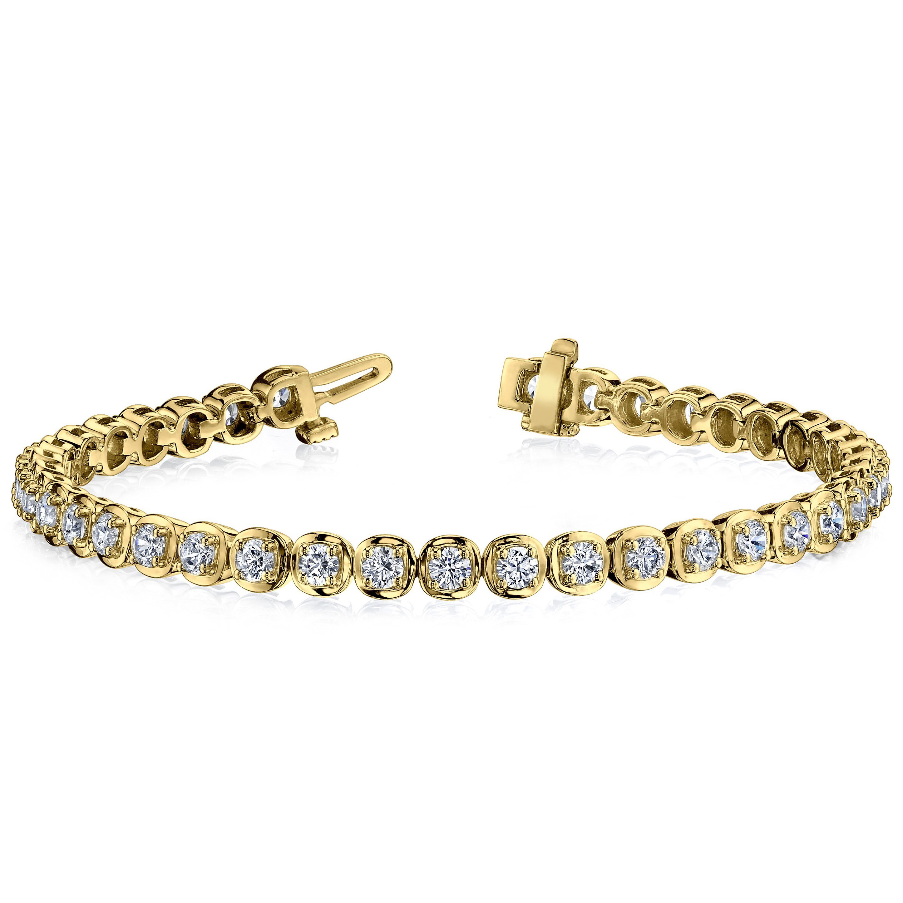 Diamond bracelet 3.00 Carat Diamonds 14K or 18K Gold