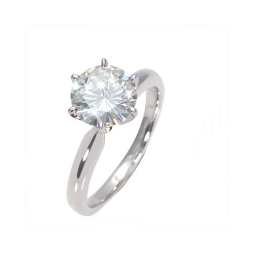 1.25 CT GH/SI ROUND DIAMOND ENGAGEMENT RING 14K GOLD