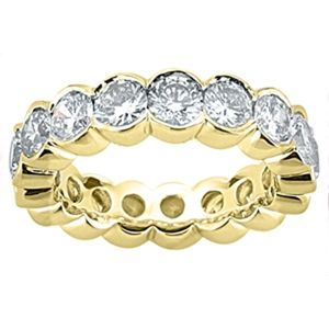 0.90 CARAT DIAMOND WEDDING RING ETERNITY BAND