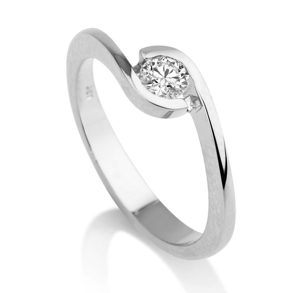 Diamant Ring Weissgold