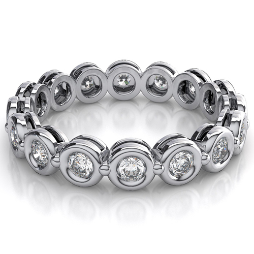 1.20 CARAT DIAMOND WEDDING RING ETERNITY BAND