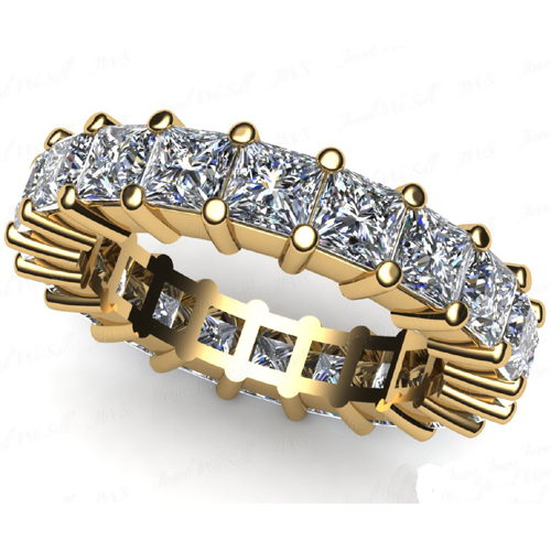 2.40 Ct. Mémoire Blanc Diamants Bague de Or 14K