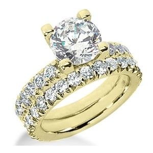 3.30 ctw Diamond Bridal Set Engagement Rings *Set No.2*