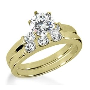 2.00 ctw Diamond Bridal Set Engagement Rings *Set No.8*