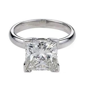 0.75 CT F/VS DIAMOND ENGAGEMENT RING 14K GOLD