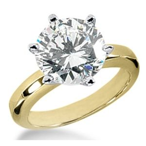 2.00 CT E/VS ROUND DIAMOND ENGAGEMENT RING 14K GOLD