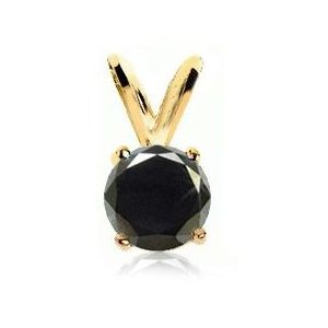 Diamond Pendant Black