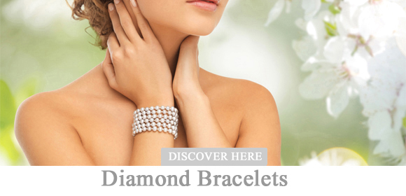 Buy diamond bracelets, diamond bracelets at a reasonable price at Pearlgem