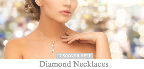 Diamond necklaces, diamond necklaces, pearl necklaces and diamond pendants