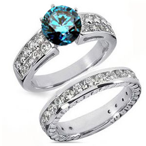 Verlobungsring blauer diamant cool costume jewelry for you for Verlobungsring blau