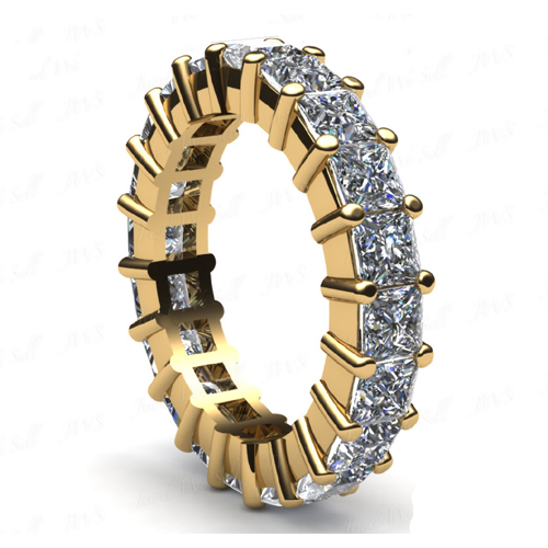 2.40 CARAT DIAMOND WEDDING RING ETERNITY BAND 14K GOLD