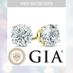 Diamond studs GIA certified