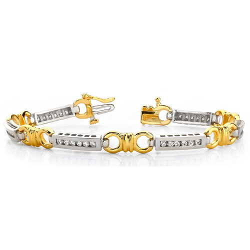diamantarmband Armband-1.08Ct-WG-1