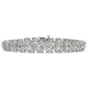 diamond bracelet white gold
