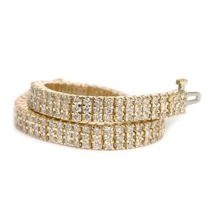 diamond bracelet yellow gold