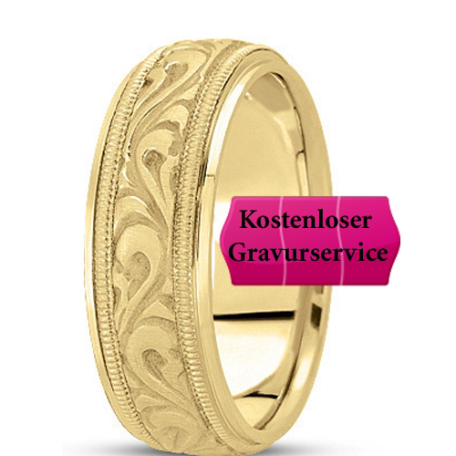 14K yellow gold Wedding Band No. 151