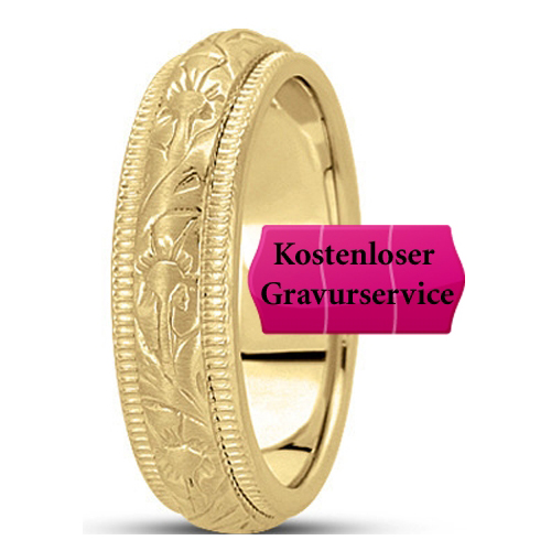 14K yellow gold Wedding Band No. 222