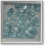 Topaz blue 10.00 Carat! Pear 5.00 x 3.00mm in jewel box