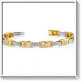 Diamant Armband aus 585er BI-Color Gold (2.00 Karat)