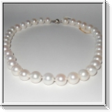 White South sea pearl necklace 10.60 to 12.00mm