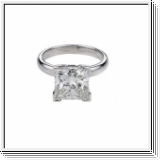 Diamond Ring 0.60 Ct. Diamond 14K White Gold
