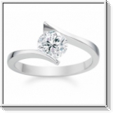 Diamond Ring 0.50 Ct. Diamond 14K or 18K White Gold