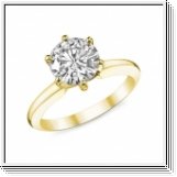 Diamond Ring Chicago 0.50 Ct. Diamond 14K or 18K Yellow Gold