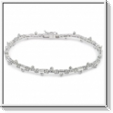 Bracelet Diamants 2.00 Carat en Or Jaune ou Blanc 14K