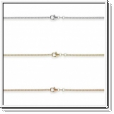 Venezia Necklace 1.5mm 14K White gold, yellow gold or rose gold