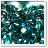 1.00 carat blue diamonds each 2.50mm diameter