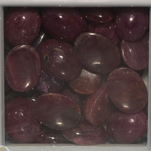 50 ct. Cabochon rubies  / Africa