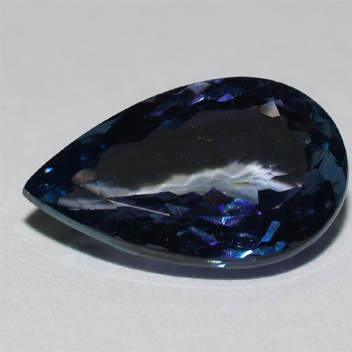Tanzanite pear in Super Fine Grade with 2.09 carat