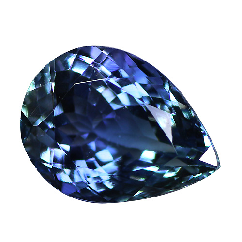 Tanzanite pear in Super Fine Grade with 1.98 carat