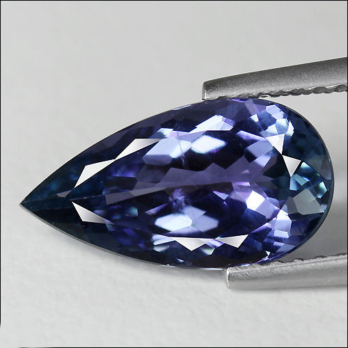 Tanzanite pear in Super Fine Grade with 2.57 carat