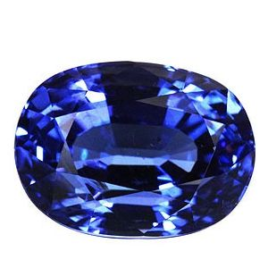Tanzanite in Super Fine Grade + GIA Report (4.08 Carat Oval)