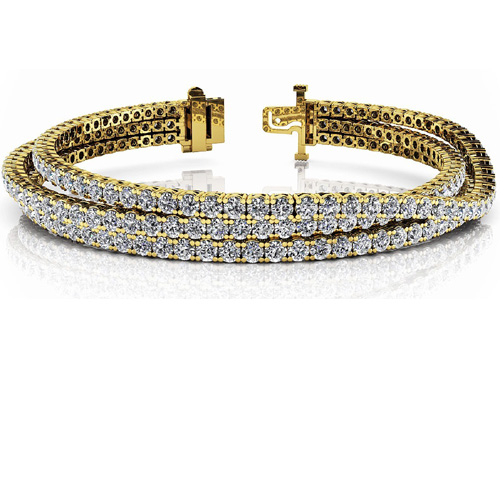 Diamond bracelet 7.00 Carat Diamonds 14K or 18K Gold