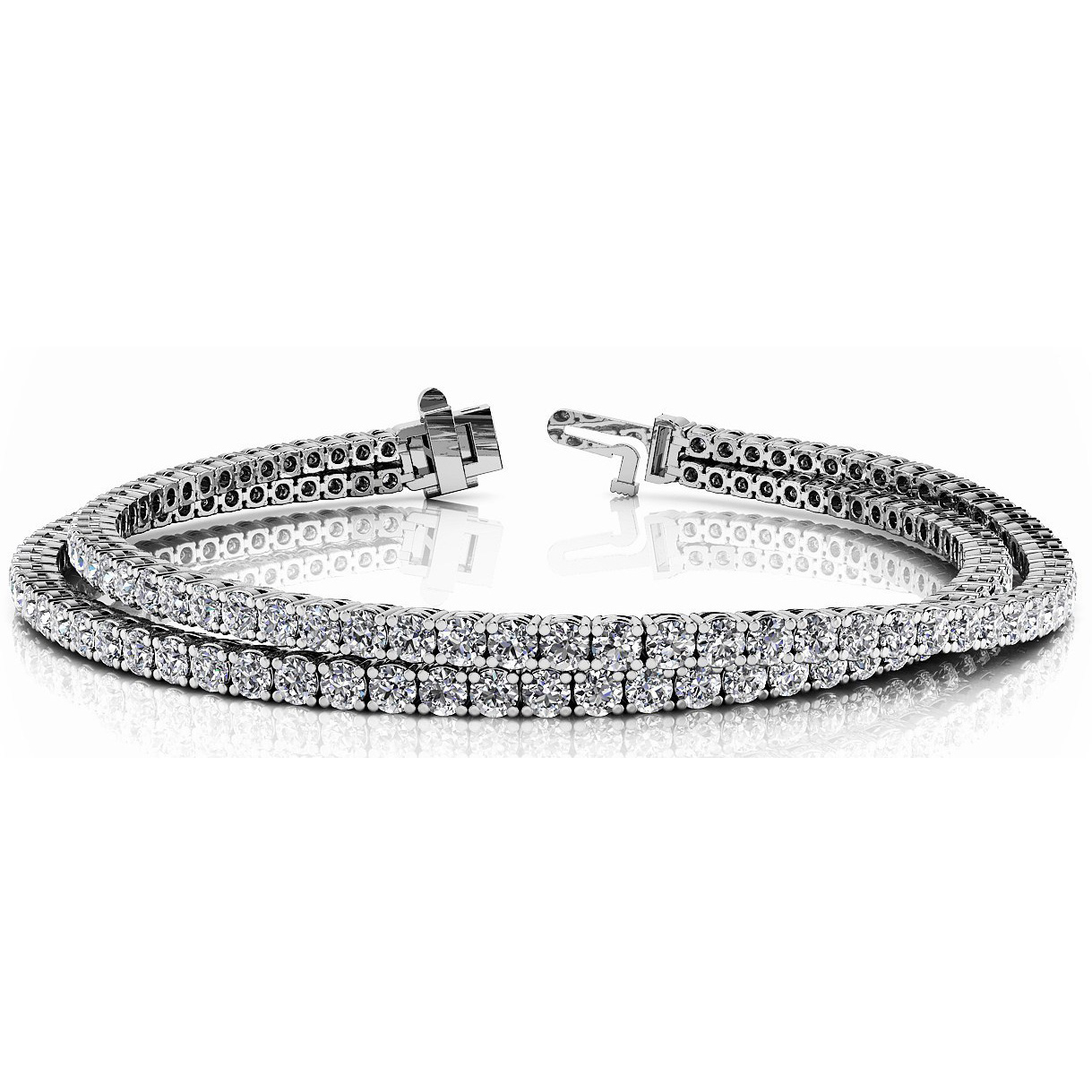 Diamond bracelet 5.00 Carat Diamonds 14K or 18K Gold