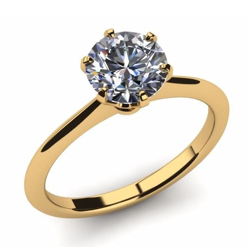 Diamant Bague Nizza 0.50 Ct. Or jaune 14K ou 18K