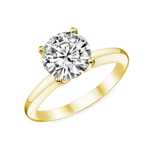 Diamant Bague Paris 0.50 Ct. Or jaune 14K ou 18K