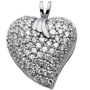 Diamond Pendant Heart