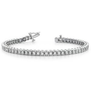 Diamond bracelet 1.00 Carat in 14K yellow or white gold