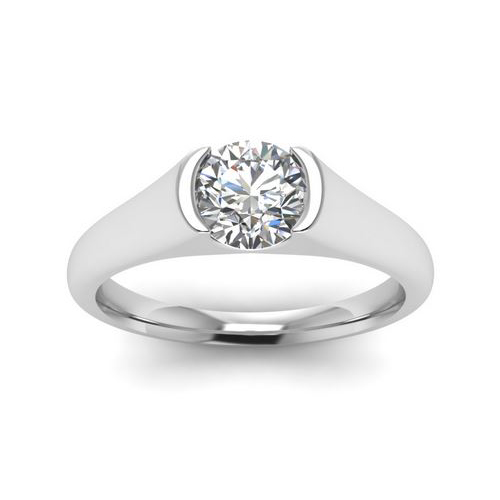 Diamond Ring Sydney 1.00 Ct. Diamond 14K or 18K White Gold